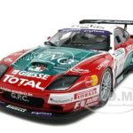 Ferrari 575 GTC Team Spa-Francochamps 2004 #11 1/18 Diecast Car Model by Kyosho