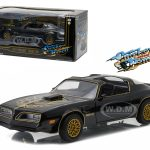 1977 Pontiac Trans Am Black Smokey and the Bandit Movie 1/24 Diecast Model Car  by Greenlight