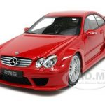 Mercedes CLK DTM AMG Red Coupe 1/18 Diecast Model Car by Kyosho