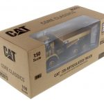 CAT Caterpillar 725 Articulated Truck with Operator 1/50 Diecast Model by Diecast Masters