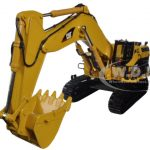 CAT Caterpillar 5110B Excavator Core Classics Series with Operator 1/50 Diecast Model by Diecast Masters