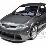 Renault Megane Vampire MTK Grey 1/18 Diecast Model Car by Norev