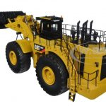 CAT Caterpillar 994F Wheel Loader with Operator Core Classics Series 1/50 Diecast Model by Diecast Masters
