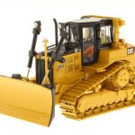 CAT Caterpillar D6T XW VPAT Track Type Tractor with AccuGrade GPS Technology with Operator High Line Series 1/50 Diecast Model by Diecast Masters