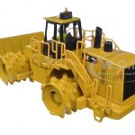CAT Caterpillar 836H Landfill Compactor with Operator Core Classic Series 1/50 Diecast Model by Diecast Masters