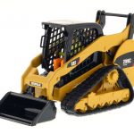 CAT Caterpillar 299C Compact Track Loader With Working Tools with Operator Core Classics Series 1/32 Diecast Model by Diecast Masters