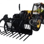 CAT Caterpillar TH407C Telehandler with Attachments Features and Operator High Line Series 1/32 Diecast Model  by Diecast Masters