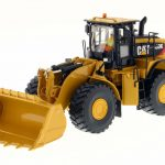 Caterpillar 980K Wheel Loader Rock Configuration with Operator High Line Series 1/50 Diecast Model by Diecast Masters