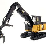 CAT Caterpillar 568 LL Log Loader with Operator High Line Series 1/50 Diecast Model by Diecast Masters