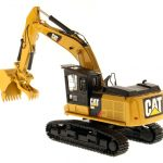 CAT Caterpillar 568 GF Road Builder with Operator High Line Series 1/50 Diecast Model by Diecast Masters