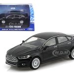 2013 Ford Fusion Tuxedo Black Metallic 1/43 Diecast Car Model by Greenlight
