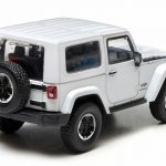 2014 Jeep Wrangler Polar Limited Edition Bright White With Display Showcase 1/43 Diecast Car Model by Greenlight