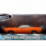 Dardens 1970 Dodge Challenger R/T 2 Fast 2 Furious Movie (2003) 1/43 Diecast Car Model by Greenlight