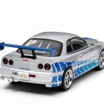 1999 Nissan Skyline GT-R 2 Fast 2 Furious Movie (2003) 1/43 Diecast Car Model by Greenlight