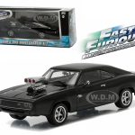 Doms 1970 Dodge Charger R/T Fast and Furious-Fast Five Movie (2011) 1/43 Diecast Model Car by Greenlight