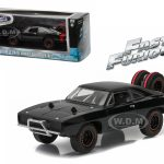 Doms 1970 Dodge Charger R/T Off Road Fast and Furious-Fast 7 Movie (2011) Diecast Model Car 1/43 by Greenlight