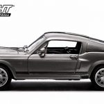 1967 Ford Shelby Mustang GT500 Eleanor Gone in Sixty Seconds Movie (2000) 1/43 Diecast Car Model by Greenlight