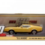 1973 Ford Mustang Mach 1 Yellow Eleanor Gone in Sixty Seconds Movie (1974) 1/43 Diecast Model Car by Greenlight