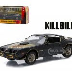 1979 Pontiac Firebird Trans AM Kill Bill Vol. 2 Movie (2004) 1/43 Diecast Model Car by Greenlight