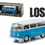 1971 Volkswagen Type 2 T2B Dharma Van Lost TV Series (2004-2010) 1/43  Diecast Model Car by Greenlight