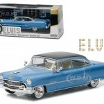 Elvis Presley 1955 Cadillac Fleetwood Series 60 Blue Cadillac (1935-1977) 1/43 Diecast Model Car  by Greenlight