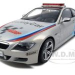 BMW M6 Moto GP 2007 Safety Car 1/18 Diecast Model Car by Kyosho