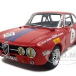Alfa Romeo GT Giulia  Am Hahne DRM 1971 H.Ertl  #51 1/18 Diecast Model Car by Autoart