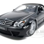 Mercedes CLK DTM AMG Convertible Black 1/18 Diecast Car Model by Kyosho