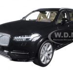 2015 2016 Volvo XC90 Onyx Metallic Black 1/18 Diecast Model Car by Ultimate Diecast