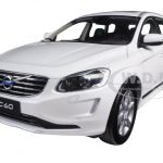 2015 Volvo XC60 Crystal White Pearl 1/18 Diecast Model Car by Ultimate Diecast