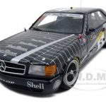 Mercedes 500 SEC 1989 AMG Race SPA Franchor Champs Ludwig/Cudin/Muller #6 1/18 Diecast Car Model by Autoart