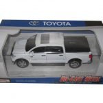 Toyota Tundra Pickup Truck White 1/36 Diecast Model by Kingstoy