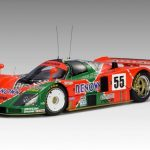 Mazda 787B Lemans Winner 1991 Weidler/Herbert/Gachot #55 Special Edition With Trophy 1/18 Diecast Model Car by Autoart