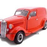 1935 Ford Sedan Delivery Red 1/24 Diecast Car by Unique Replicas