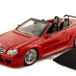 Mercedes CLK DTM AMG Convertible Red 1/18 Diecast Car Model by Kyosho
