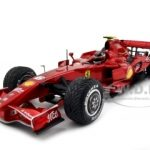 2007 Ferrari 200th GP Win F1 Kimi Raikkonen 1/18 07-10-07 1/18 Diecast Model Car by Hotwheels