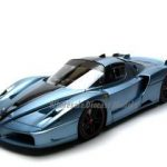 Ferrari FXX Elite Light Blue 1/18 Diecast Car Model by Hotwheels