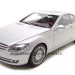 Mercedes CL Class 1/18 Silver Diecast Model Car by Autoart