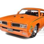 1969 Pontiac GTO Judge Pro Stock Orange 1/24 Diecast Car Model by Jada