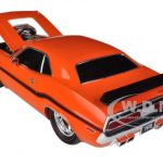 1970 Dodge Challenger R/T Orange Ground Pounders Limited to 300pc Worldwide 1/18 Diecast Model Cars by M2 Machines