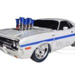 1970 Dodge Challenger R/T 75th Mopar Anniversary White Limited to 500pc 1/18 Diecast Model Car by M2 Machines