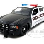 2006 Dodge Charger R/T Highway Patrol With Stock Wheels 1/24 Diecast Model Car by Jada