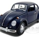 1967 Volkswagen Beetle Blue 1/18 Diecast Car by Road Signature