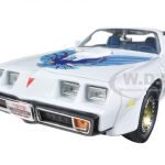 1979 Pontiac Firebird Trans Am White 1/18 Diecast Model Car by Road Signature