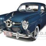 1950 Studebaker Champion Blue 1/18 Diecast Car Model by Road Signature