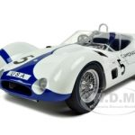 Maserati Tipo 61 #5 Camoradi Moss/Gurney Winner 1000km Nurburgring 1960 1/12 Diecast Car Model by Minichamps