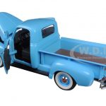 1950 GMC Pickup Truck Blue 1/18 Diecast Model by Road Signature