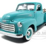 1950 GMC Pickup Truck Green 1/18 Diecast Car by Road Signature