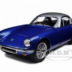 1960 Lotus Elite Dark Blue 1/18 Diecast Model Car by Road Signature