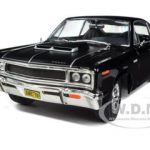 1970 AMC Rebel Black 1/18 Diecast Car Model by Road Signature